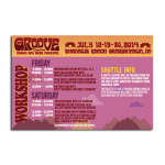 Groove Schedule Back