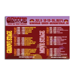 Groove Schedule Front