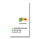 EVERYMAN TODAY BUSINESS CARD BACK