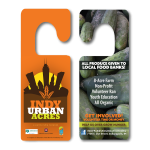 Indy Urban Acres Door Advertisements