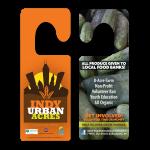 Indy Urban Acres Door Advertisements